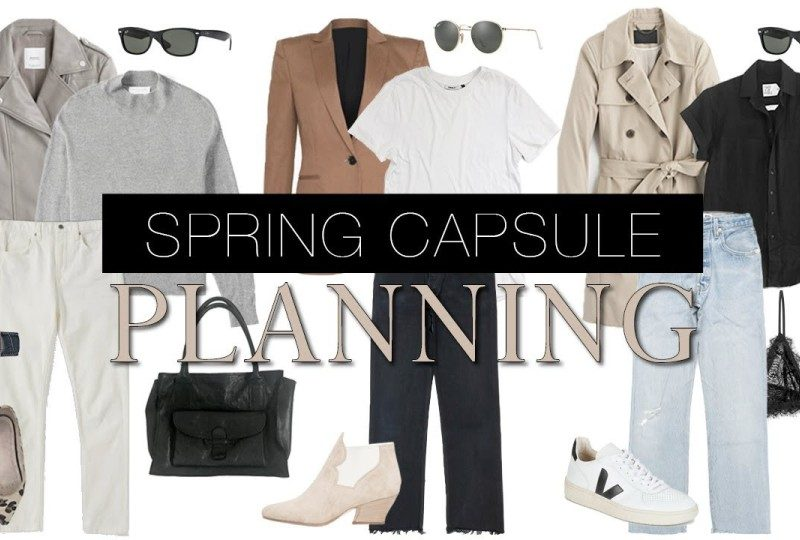 The only Clothes you need for a Complete Spring Capsule Wardrobe